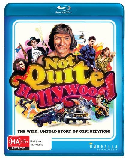 Mark Hartley's Pioneering NOT QUITE HOLLYWOOD Comes To Blu-ray This October!