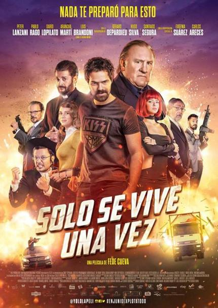 YOU ONLY LIVE ONCE: De La Iglesia Stunt Supervisor Delivers Big Action Comedy In Directing Debut