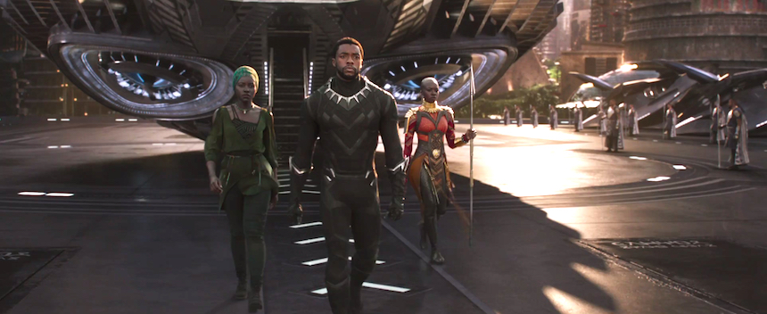New BLACK PANTHER Trailer Has King-Sized Action in an Awesome Afrofuturist World