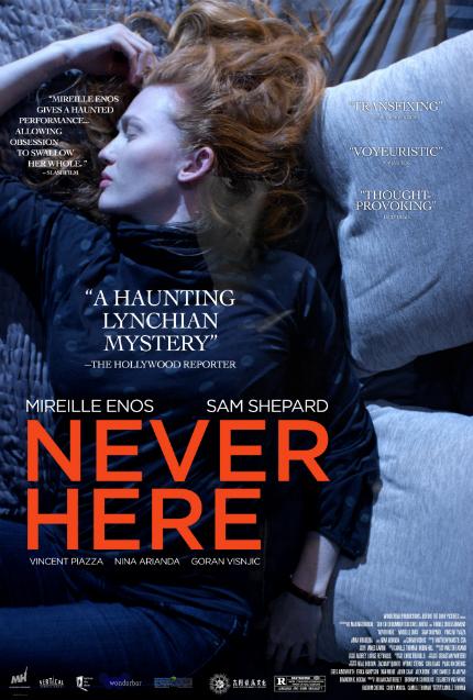 Exclusive NEVER HERE Clip: Mireille Enos and Creepy Suspicion