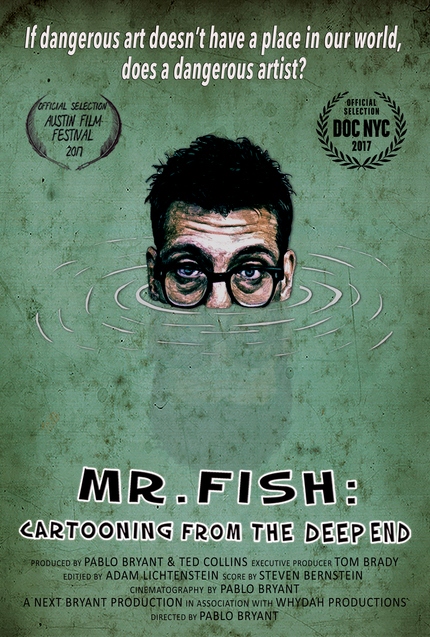 MR. FISH: CARTOONING FROM THE DEEP END: Poster And Trailer Premiere