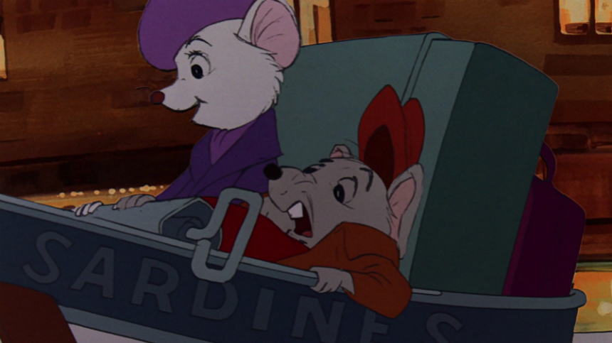 70s Rewind: Disney's THE RESCUERS, Fun for Kids, Diverting for Adults Too