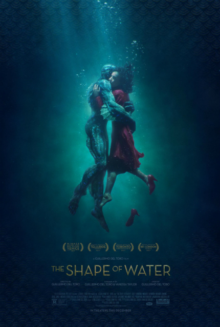 Review: THE SHAPE OF WATER, Guillermo del Toro At His Best