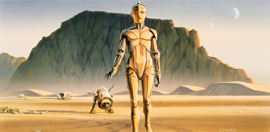 THE STAR WARS Concept Trailer Brings Ralph McQuarrie's Vision to Life