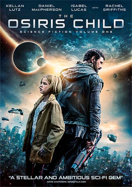 Giveaway: Win a DVD/BD Combo Pack of THE OSIRIS CHILD: SCIENCE FICTION VOLUME ONE