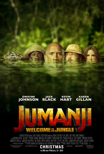 Review: JUMANJI: WELCOME TO THE JUNGLE, Now Go Home