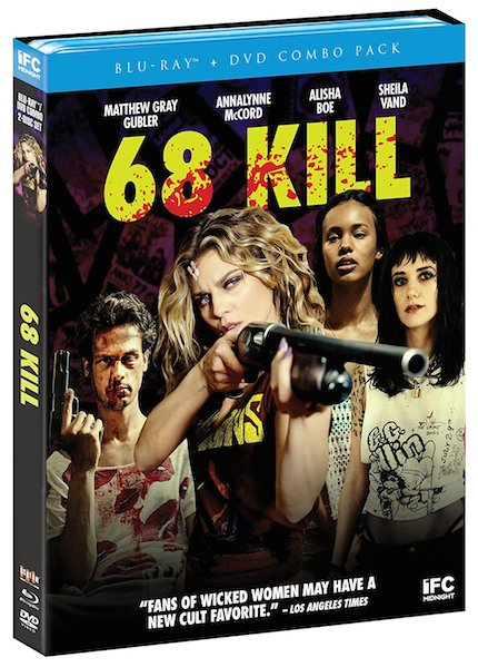 68 KILL Blu-ray Review: Neo-Grindhouse Still Polarizes, Thrills