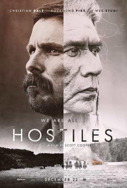 Review: HOSTILES, A Dive Into the Complicated Soul of a Man Possessed by Hate