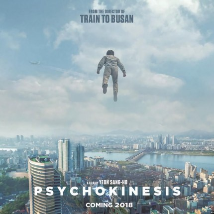 PSYCHOKINESIS: Trailer For TRAIN TO BUSAN Helmer's Next Is Sillier Than Expected.