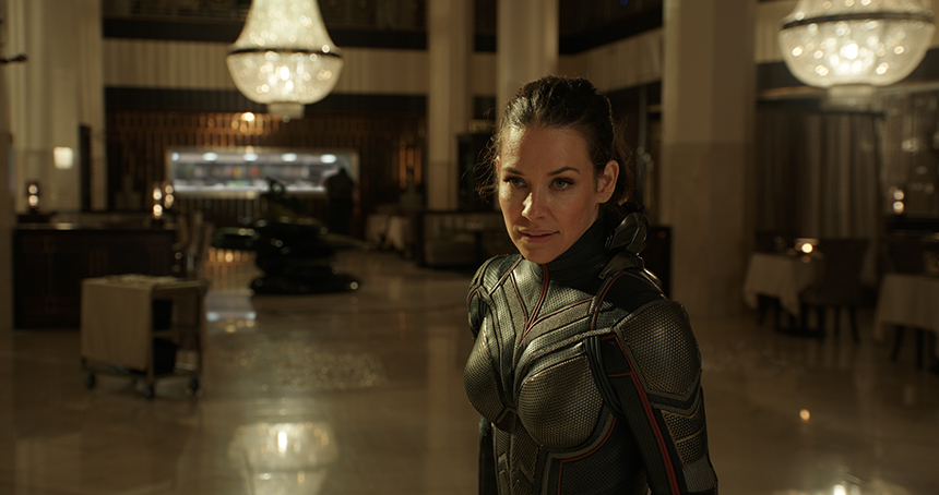ANT MAN AND THE WASP: New Trailer is All Wasp, Wings and Blasters