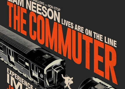 Friday One Sheet: THE COMMUTER (and Perspective Text)