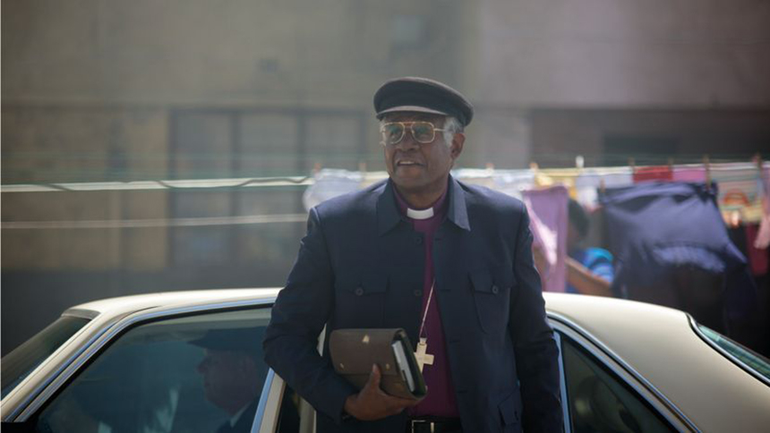 THE FORGIVEN: See Forest Whitaker as Desmond Tutu This March