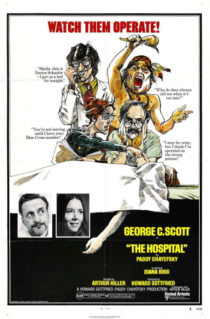 70s Rewind: THE HOSPITAL, Passion, Pain and Dark Comedy