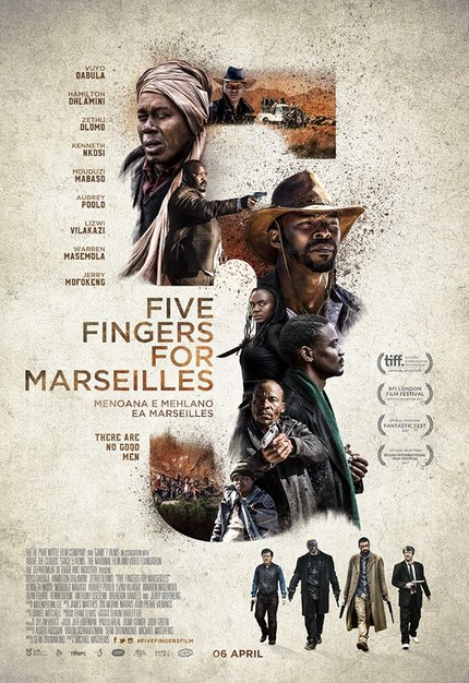 FIVE FINGERS FOR MARSEILLES: Watch The Full Theatrical Trailer For The South African Western