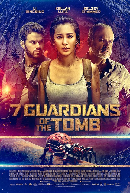 7 GUARDIANS OF THE TOMB: 'Emotion Clouds Judgement' in Exclusive Clip From Action Flick