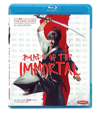 Now on Blu-ray: Miike's BLADE OF THE IMMORTAL Shreds in HD