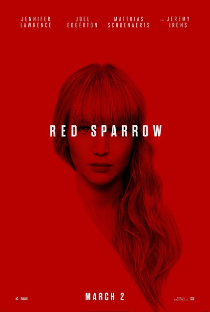Review: RED SPARROW, Hardcore Torture, Softcore Porn?