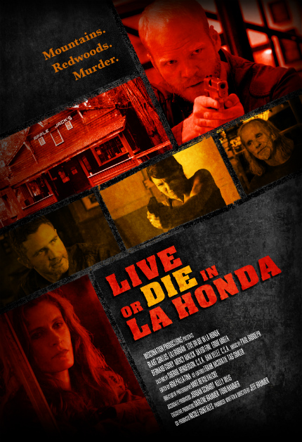 Crime Noir LIVE OR DIE IN LA HONDA Heads for March Release