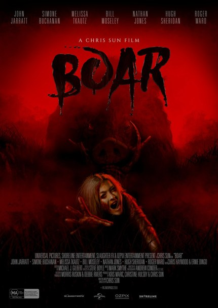 BOAR: Watch The Official Trailer For Chris Sun's Ozploitation Animal Horror
