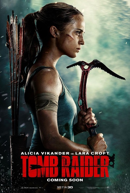 Review: TOMB RAIDER, Exhuming Yet Another Lifeless Video Game Adaptation on the Masses