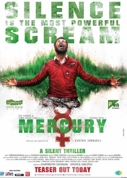 Karthik Subbaraj's MERCURY Teaser: A Silent Scream Speaks Volumes