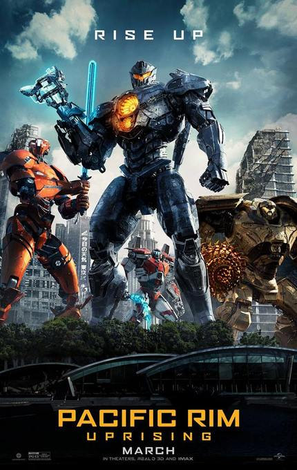 Review: PACIFIC RIM UPRISING, Giant Robots Punch Giant Monsters, Who Cares About The Rest?