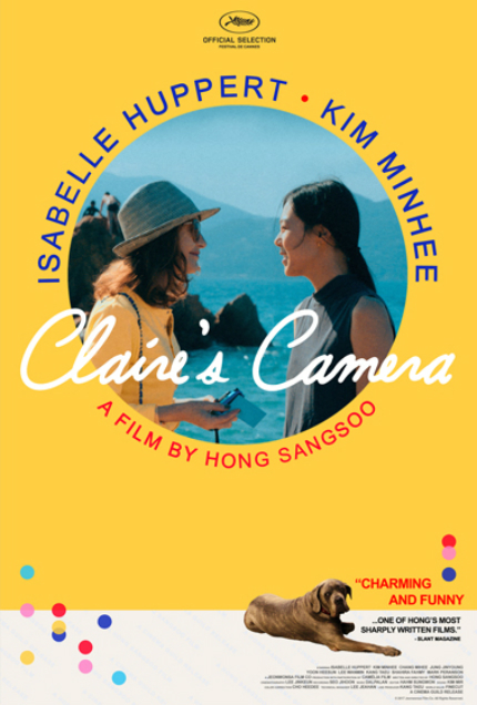 Review: CLAIRE'S CAMERA, A Perfunctory Blip