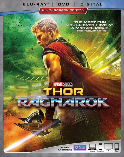 Now on Blu-ray: THOR: RAGNAROK Is Even More Fun On This Great Blu-ray Release From Disney