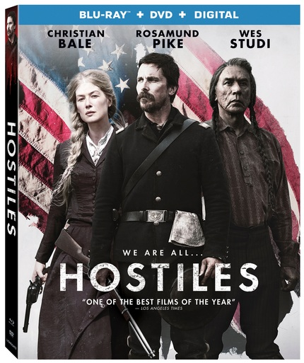 Blu-ray Review: HOSTILES Takes A Close Look At America's Violent Past