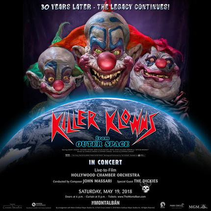 The Circus is Back in Town: KILLER KLOWNS FROM OUTER SPACE score will get the live-to-film treatment