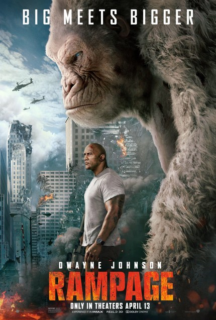Review: RAMPAGE Delivers The Monster Mayhem We Deserve
