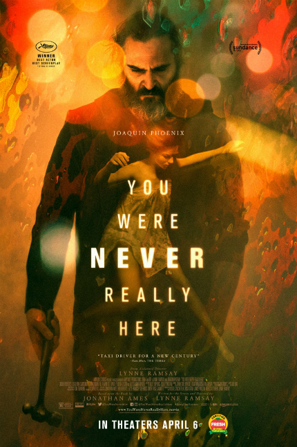 Review: YOU WERE NEVER REALLY HERE, Palpable Tragedy Brought to Wrenching Life