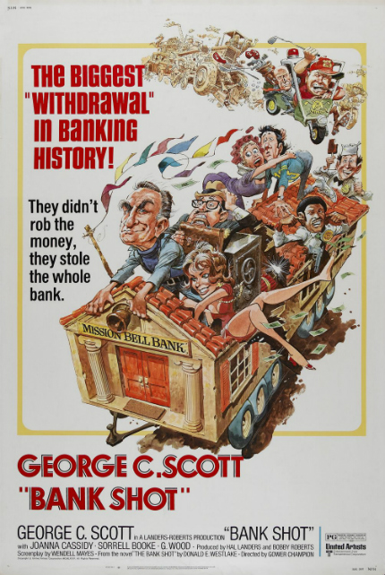 70s Rewind: BANK SHOT, George C. Scott in a Broad Comedy Caper