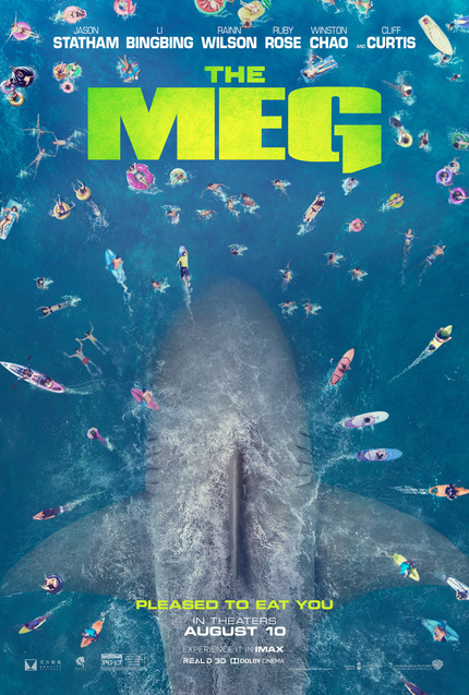 Review: THE MEG, Jason Statham Vs. Giant Prehistoric Shark