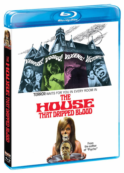 Blu-ray Review: THE HOUSE THAT DRIPPED BLOOD Pours on Nostalgia