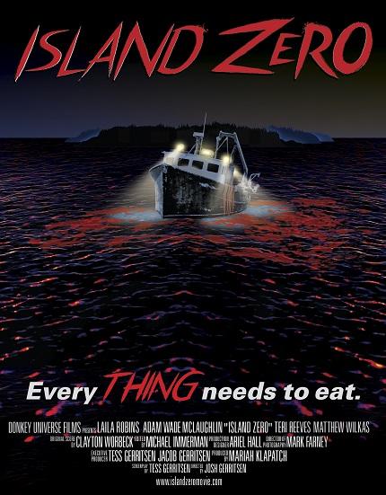 Win An ISLAND ZERO Poster Signed By Director Josh Gerritson & Writer Tess Gerritsen