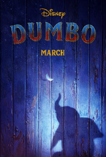 DUMBO: Watch The Teaser For Tim Burton's Live Action Film