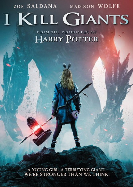 Giveaway: Win a Copy of I KILL GIANTS on DVD
