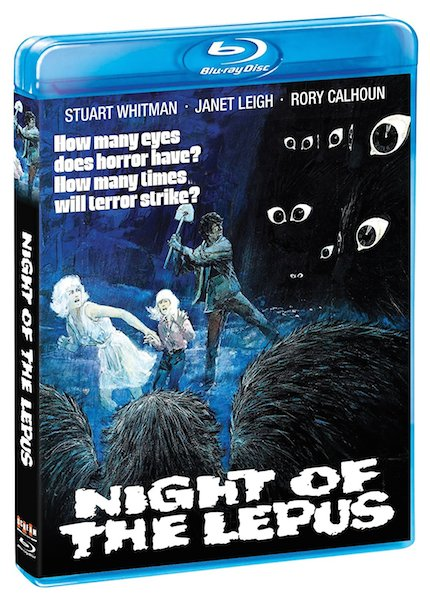 Blu-ray Review: NIGHT OF THE LEPUS is Best for Little Bunnies