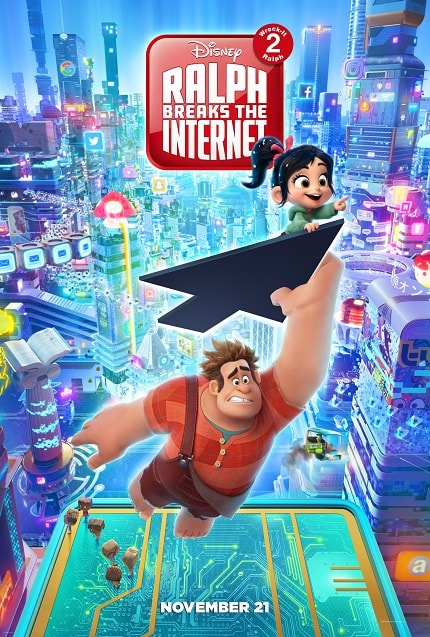 RALPH BREAKS THE INTERNET: New Trailer For WRECK IT RALPH 2 Cracks Wise About Surfing The Net