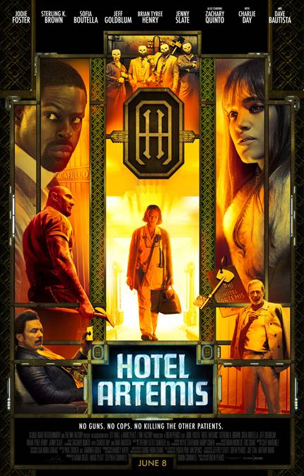 Review: HOTEL ARTEMIS, A Fun Bit Of Sci-Fi Action To Pass The Time
