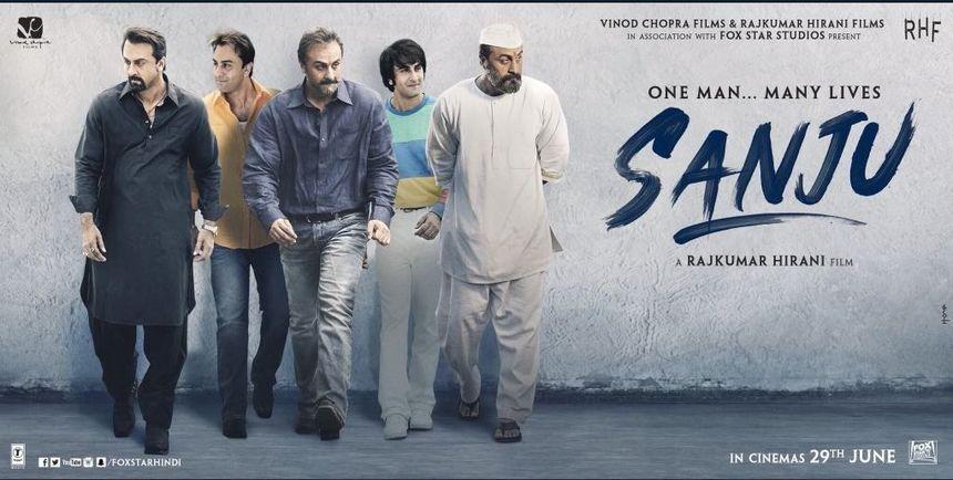 Review: SANJU, A Bollywood Bad Boy Hazy-ography