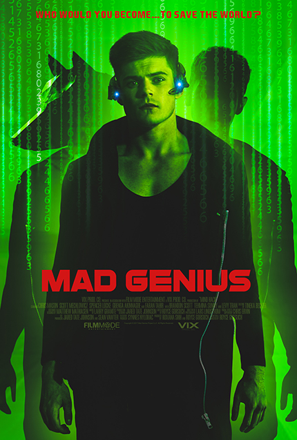 MAD GENIUS: Exclusive Clip For Sci-Fi Indie, on VOD July 3rd