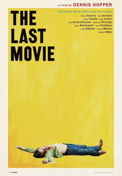 EXCLUSIVE: Dennis Hopper's THE LAST MOVIE Gets New Poster Art For Upcoming Theatrical Rerelease