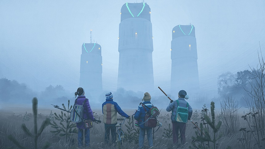 TALES FROM THE LOOP: Amazon Orders Sci-Fi Series Based on Simon Stålenhag's Artwork