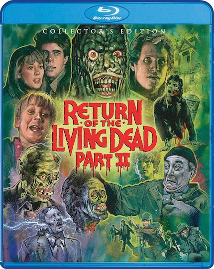 Blu-ray Review: RETURN OF THE LIVING DEAD PART II, the Sequel No One Wanted