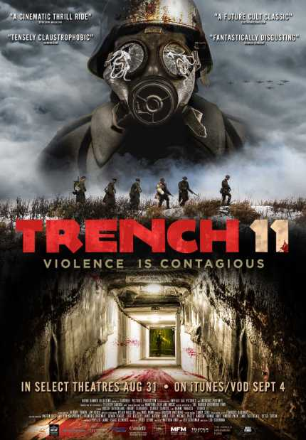 TRENCH 11: Check Out The New Trailer And Poster For Canadian Wartime Horror
