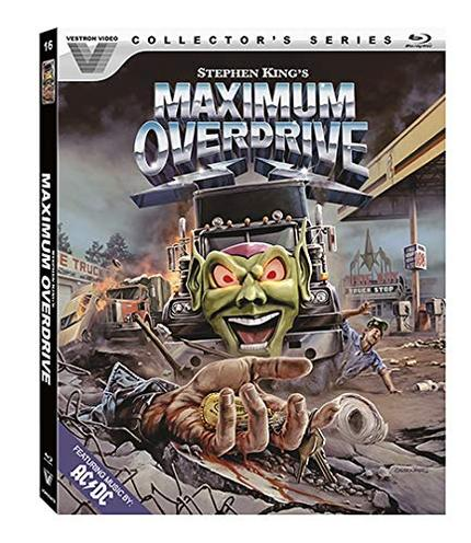 Vestron Video Goes Into MAXIMUM OVERDRIVE This October With Stephen King's Cult Fave