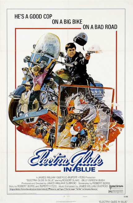 70s Rewind: In ELECTRA GLIDE IN BLUE, Robert Blake Commands the Screen