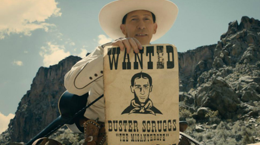 Review: THE BALLAD OF BUSTER SCRUGGS, The Coens Struggle on Netflix
